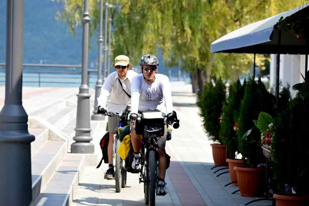 Biciklistička staza u Golupcu