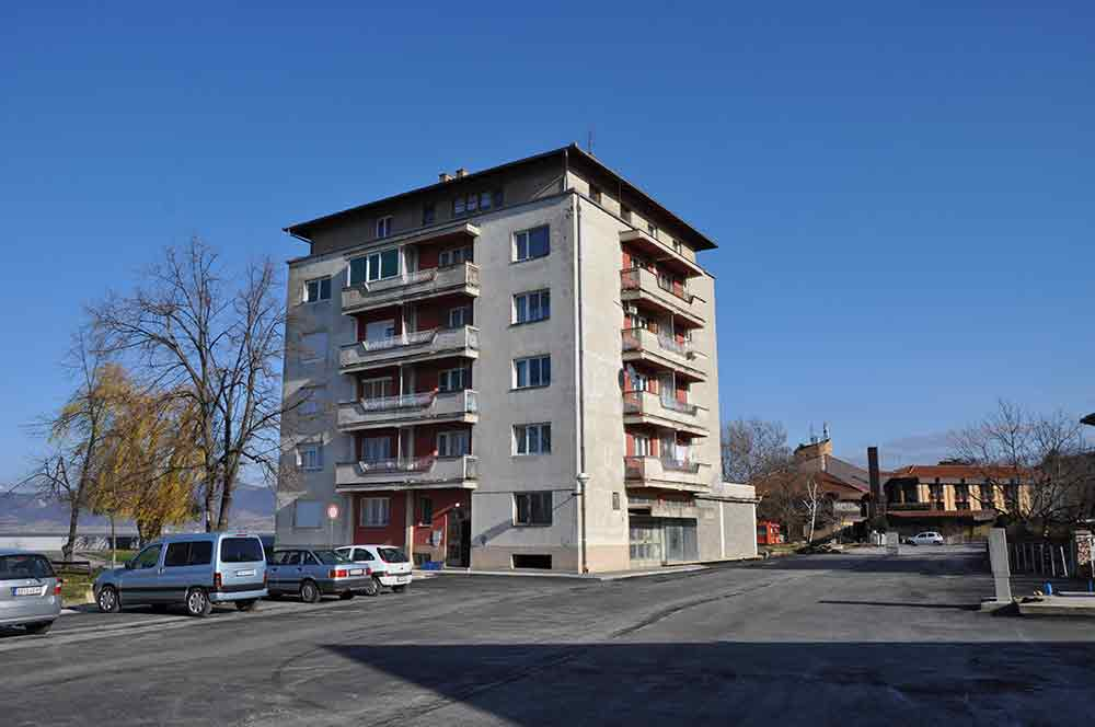 Apartman Bogojevic - zgrada i parking