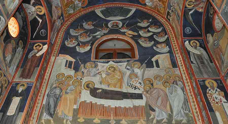 Manastir Tumane - zidne slike